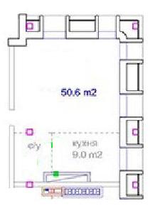 Однокомнатная - ЖК Авторский$60214Площадь:50.6m²