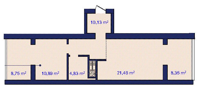 Двухкомнатная - ЖК Ривьера Сити$36960Площадь:63.1m²