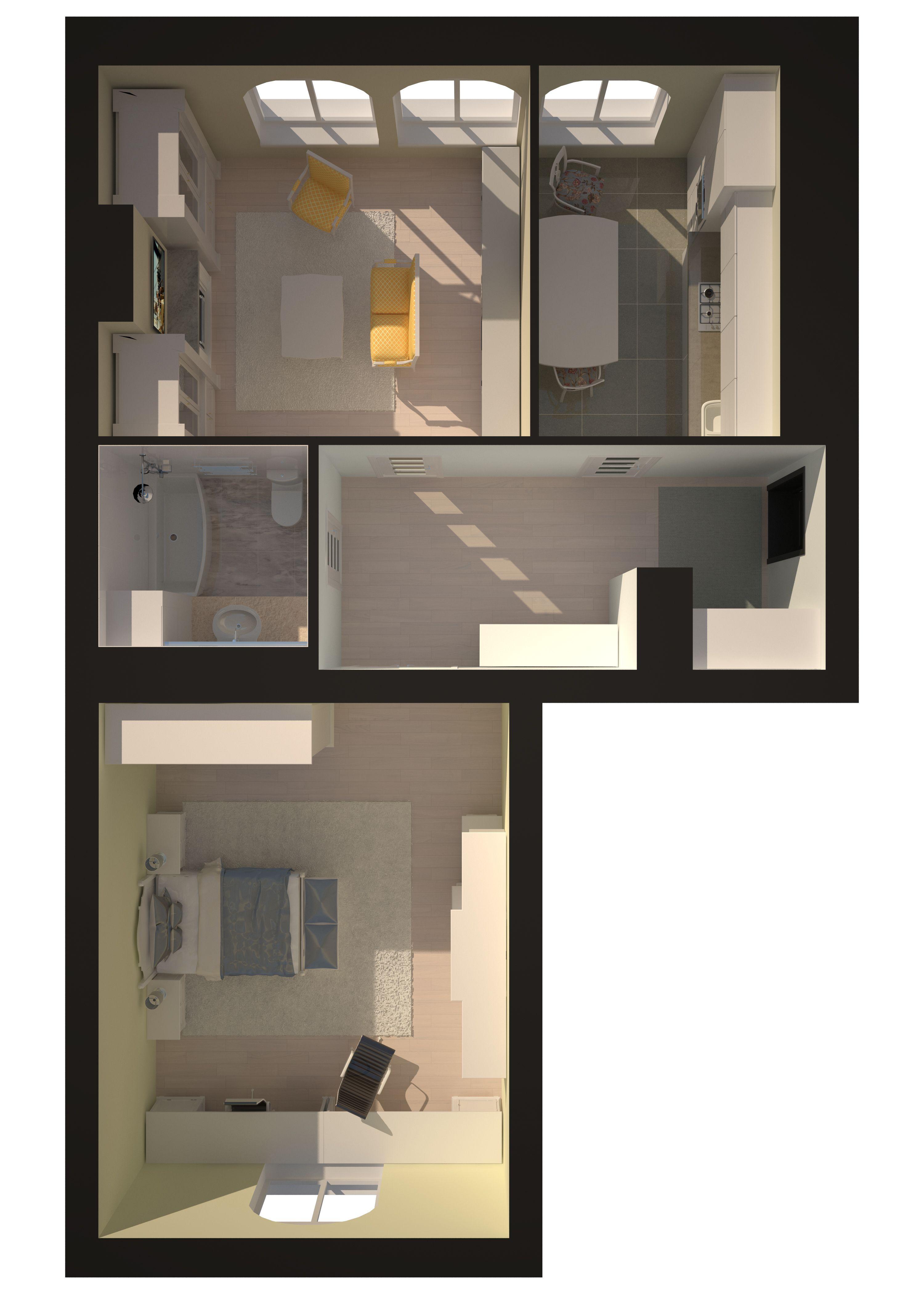 Двухкомнатная - Зеленый Мыс Premium Residence$65522Площадь:81.5m²
