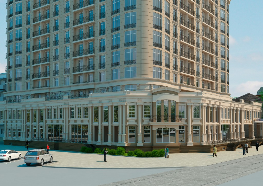 ЖК Бельэтаж дом на Белинского первые этажи