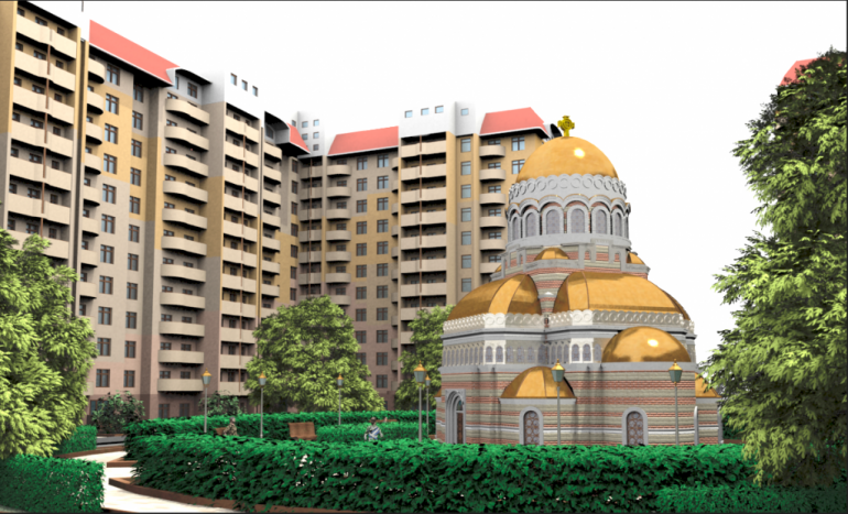 ЖК Новые Черемушки церковь
