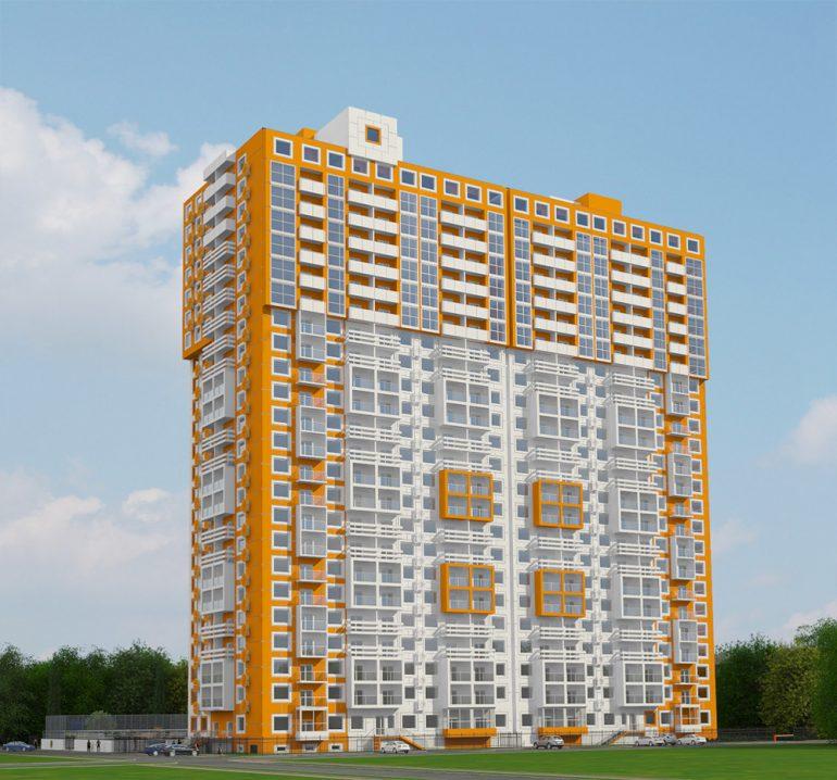 ЖК Апельсин фасад