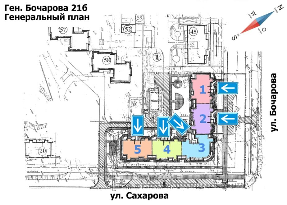 ЖК Новый квартал генплан