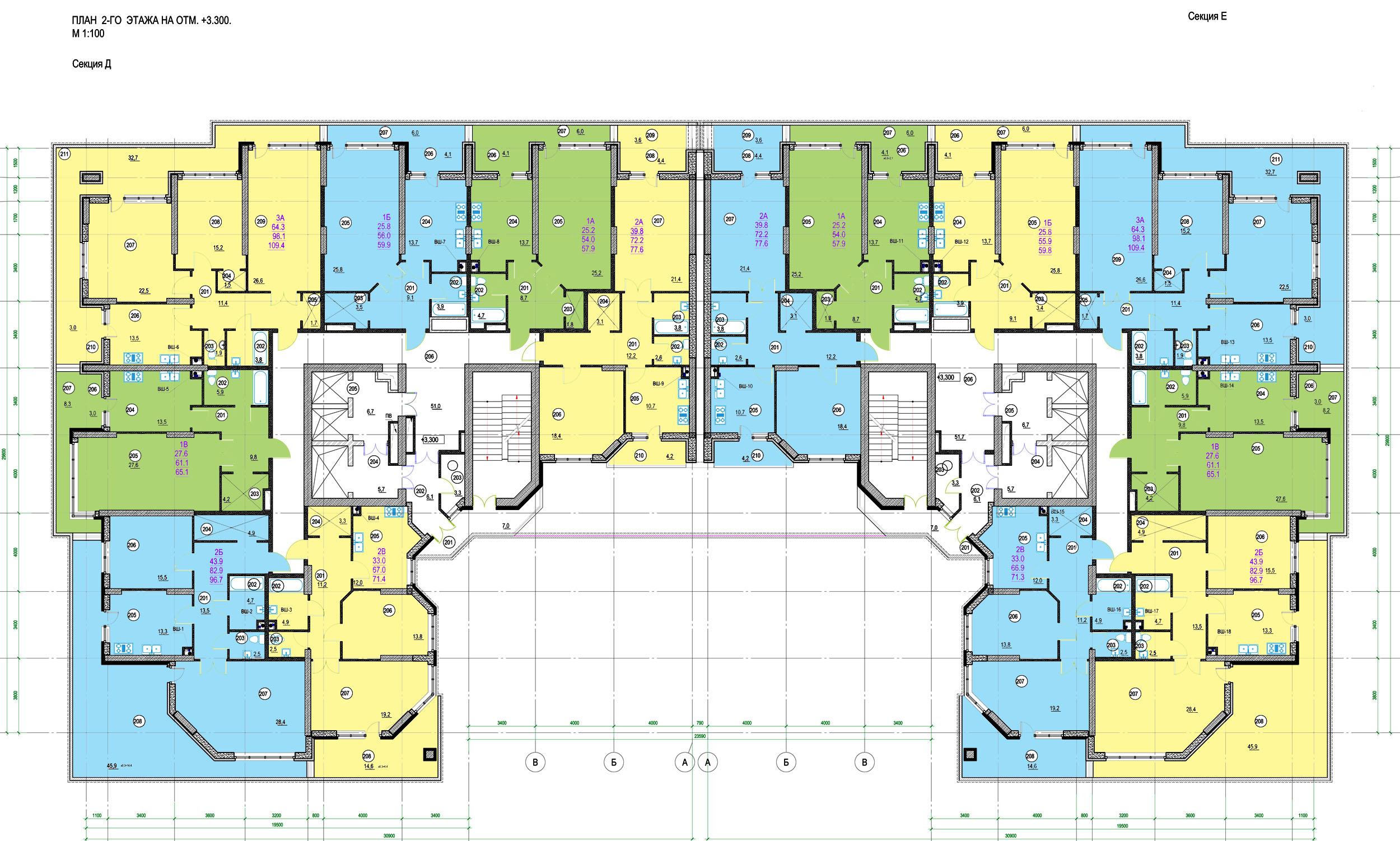 Стикон ЖК Французский -2й этаж