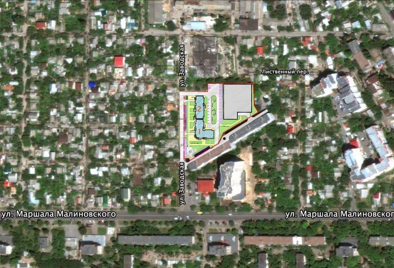 Кадорр, 11 Жемчужина, на карте Одессы