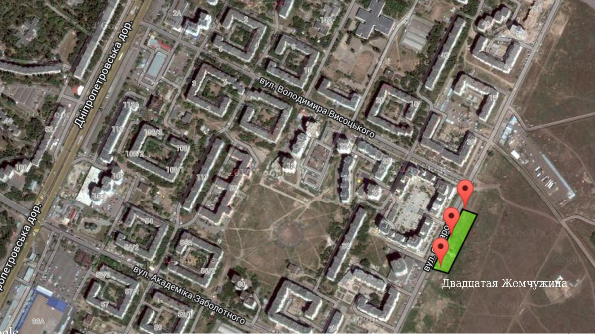 20 жемчужина на карте новостроек Одессы