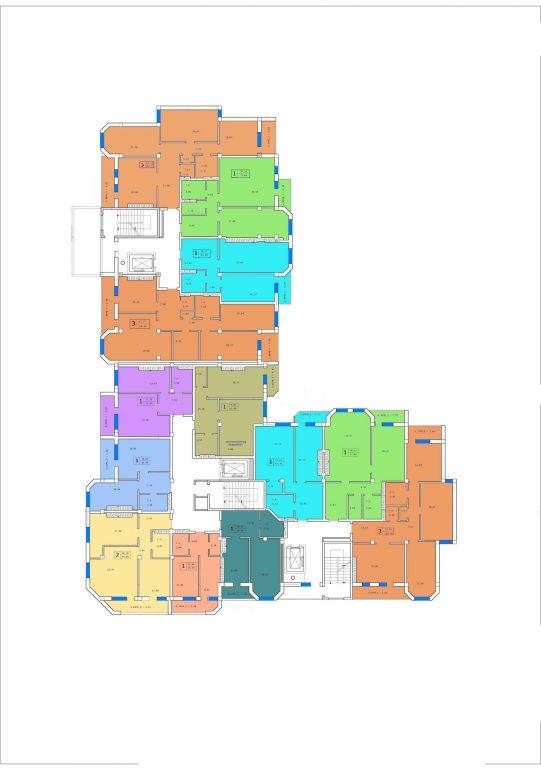 ЖК Английский дом планировка