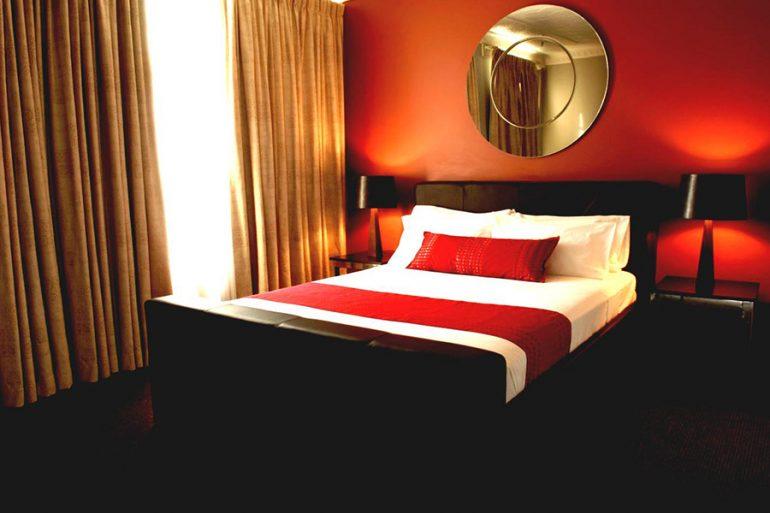 Варианты цветового оформления спальни.