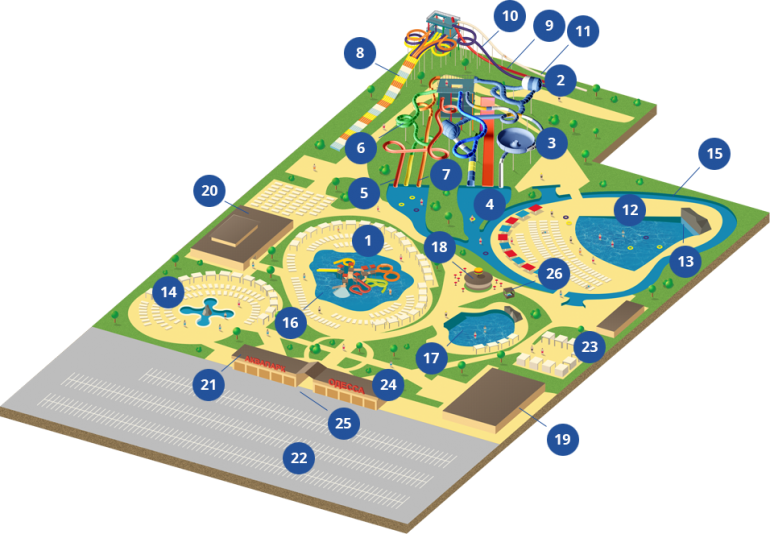 Aqua Odessa plan