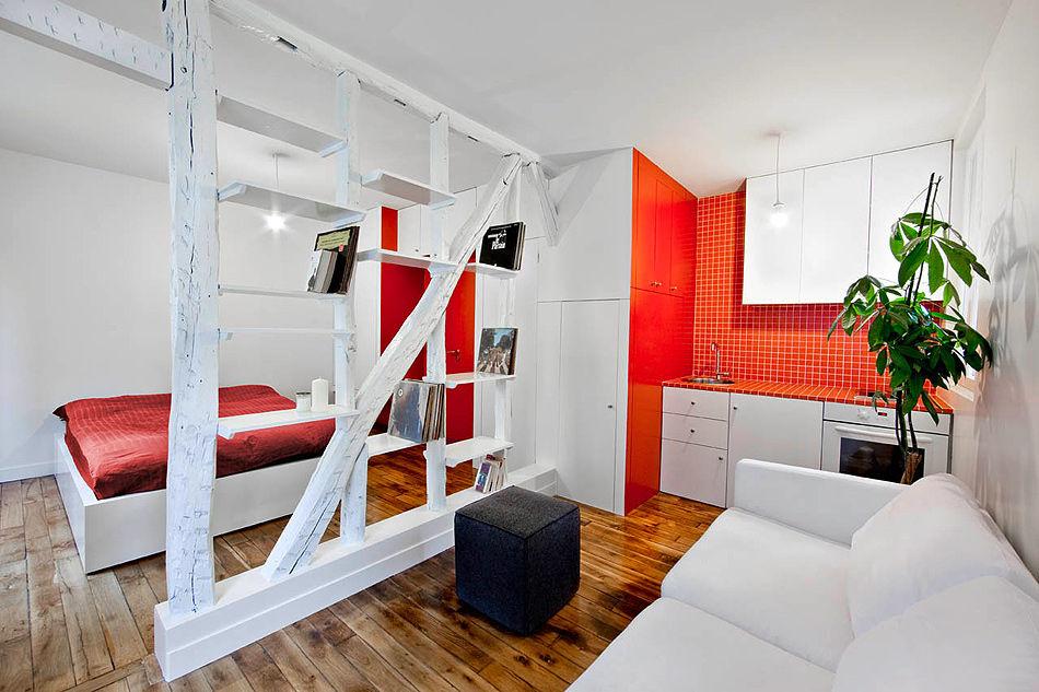 зонирование цветом в квартире