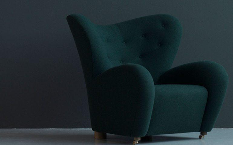 кресло уставшего человека