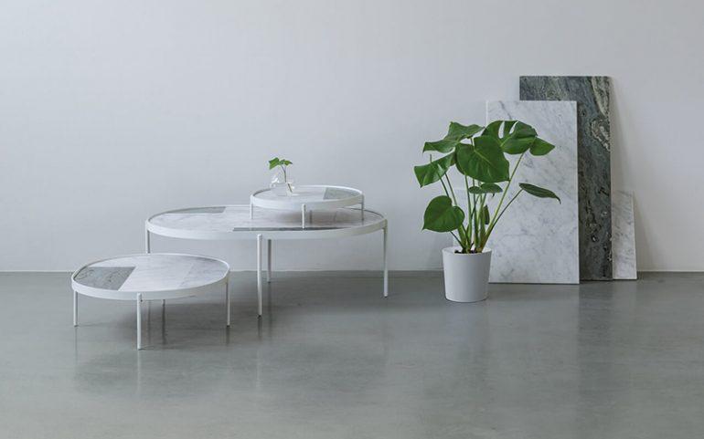 мраморные столики