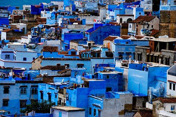 Улица Шефшауэн в Марокко
