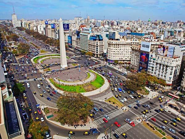 самая широкая улица в мире