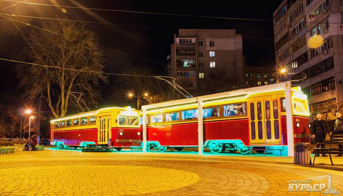 ресторан трамвай одесса