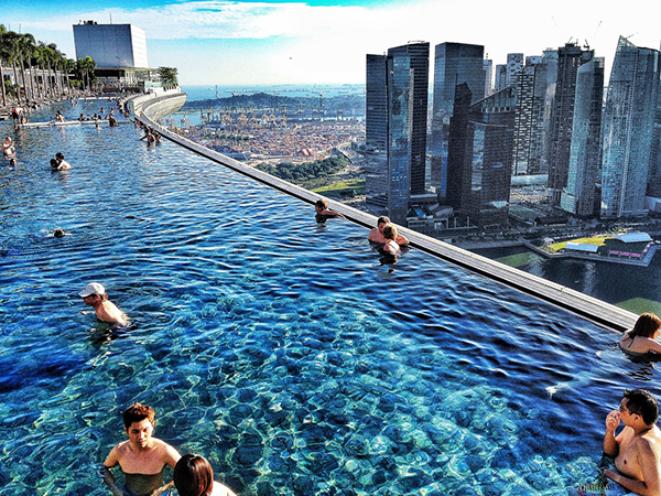 MARINA BAY SANDS HOTEL, СИНГАПУР