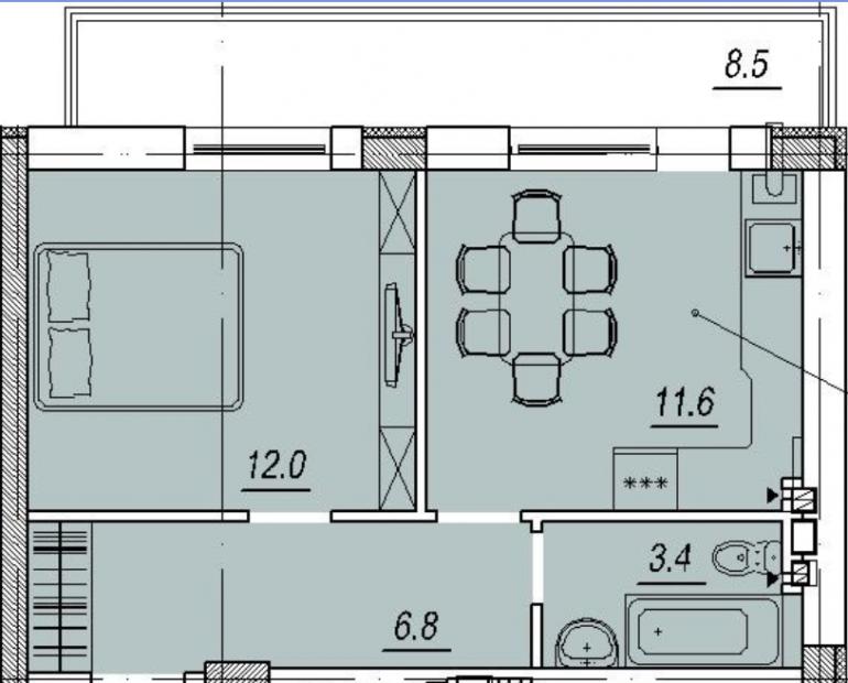 ЖК Новый Люстдорф планировка квартиры