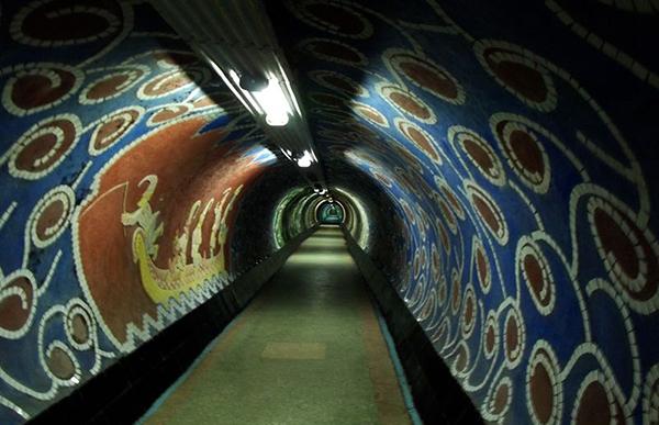 сказочный тоннель Магнолия