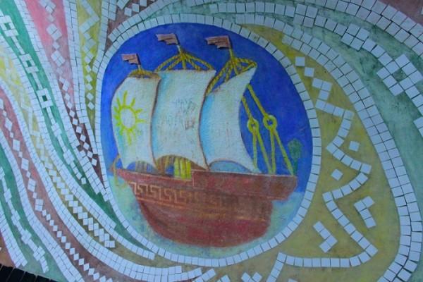 мозаика в тоннеле сказок