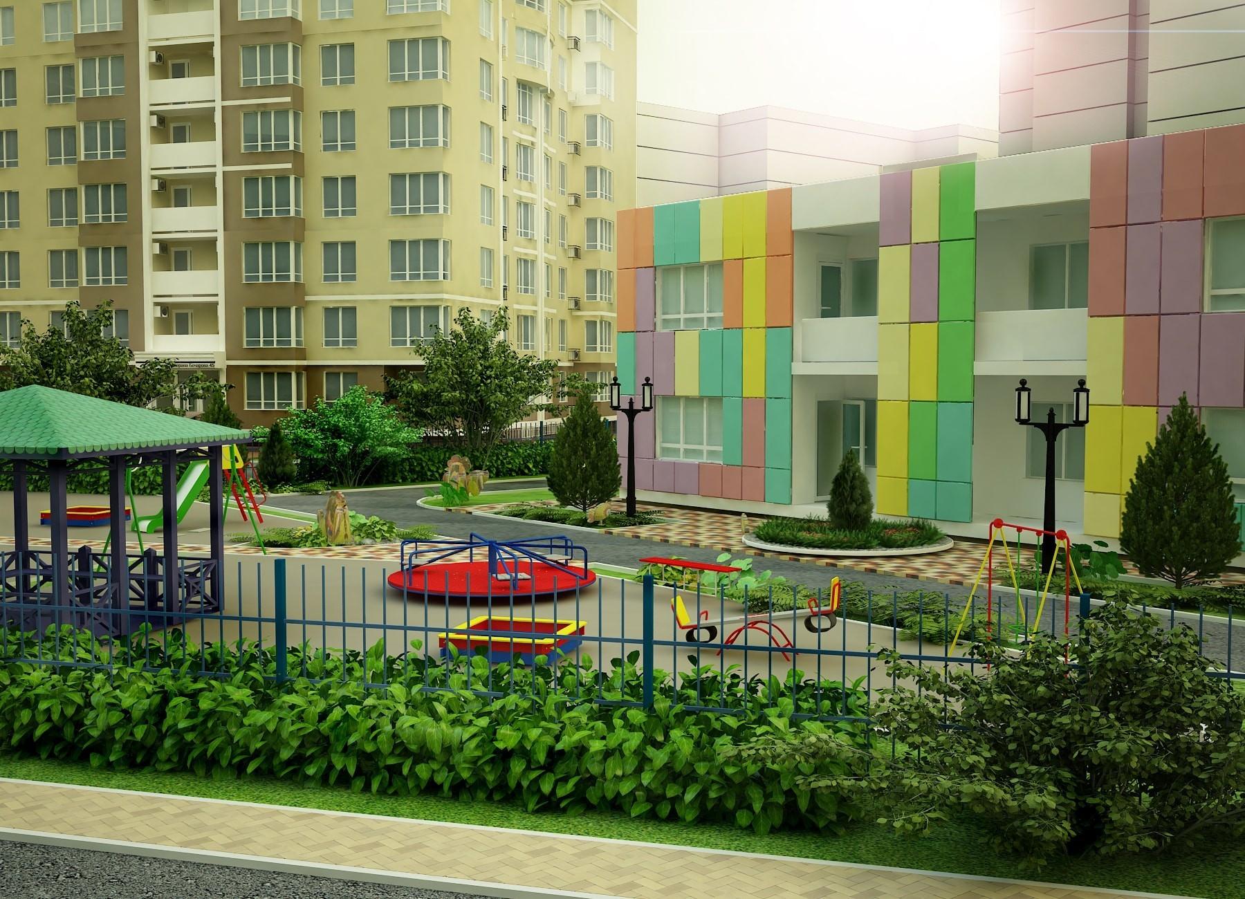 новостройка Поселок Котовского детский сад