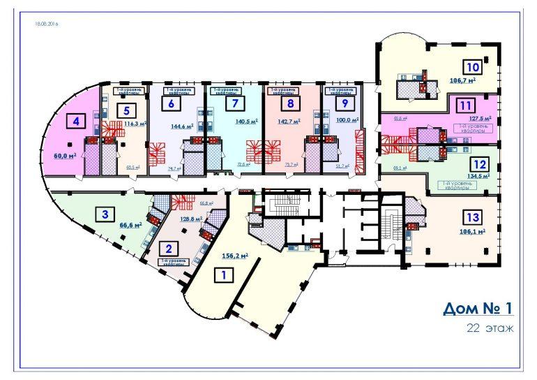 ЖК Курортный Новострой в Одессе СК Микромегас Дом 1 22 этаж