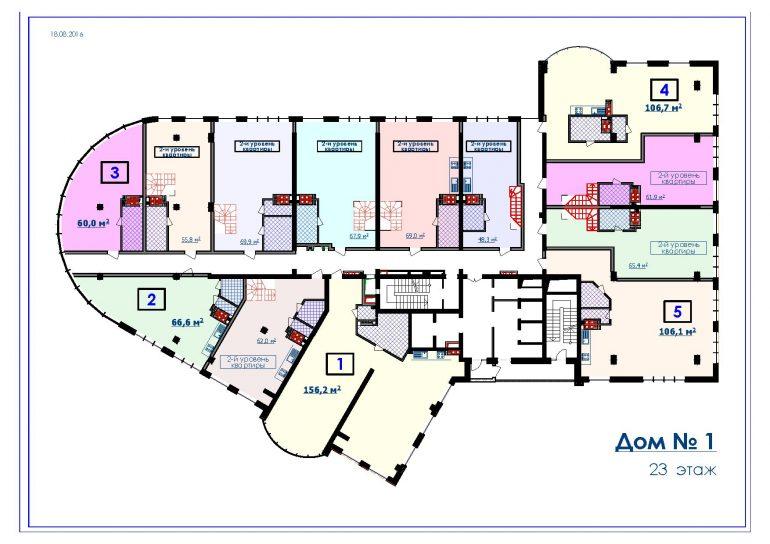 ЖК Курортный Новострой в Одессе СК Микромегас Дом 1 23 этаж