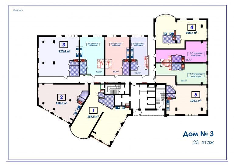 ЖК Курортный Новострой в Одессе СК Микромегас Дом 3 23 этаж