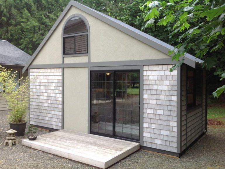 Крошечный дом Криса Хэйнинга