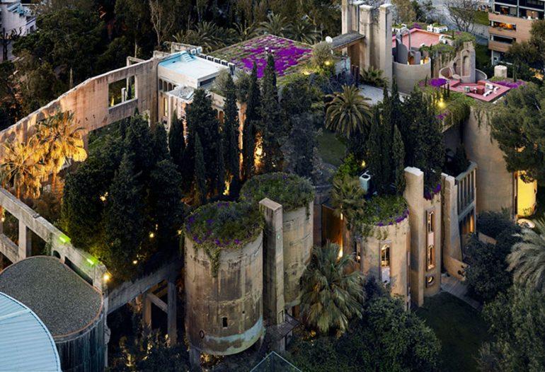 Дом - цементный завод в Барселоне архитектор Рикардо Бофилл