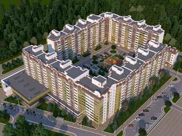 ЖК Эко Соларис Eco Solaris визуализация комплекса Новострой в Одессе