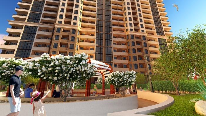 ЖК Элегия Парк Новостройка в Одессе Визуализация комплекса