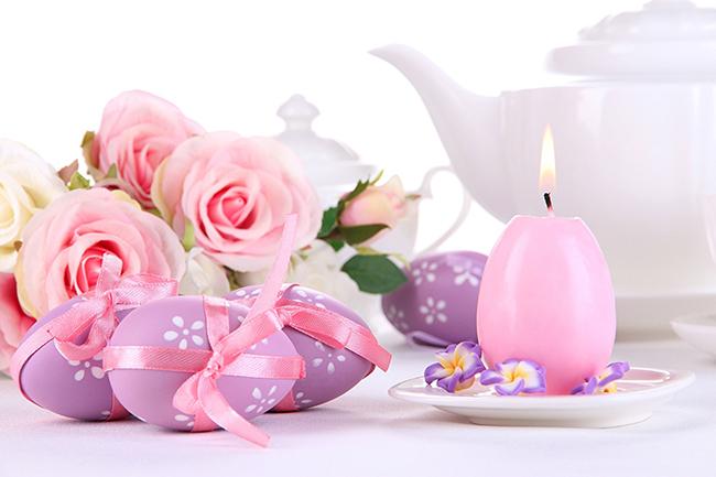 свеча в виде яйца к пасхе