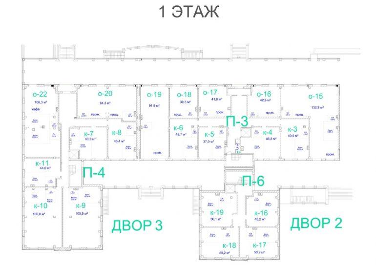 ЖК Авторский. 2 очередь. 1 этаж