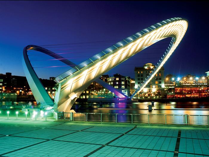Gateshead Millennium Bridge.