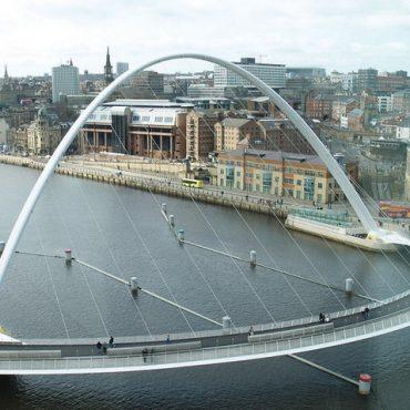 Поворотный мост Миллениум (Англия).