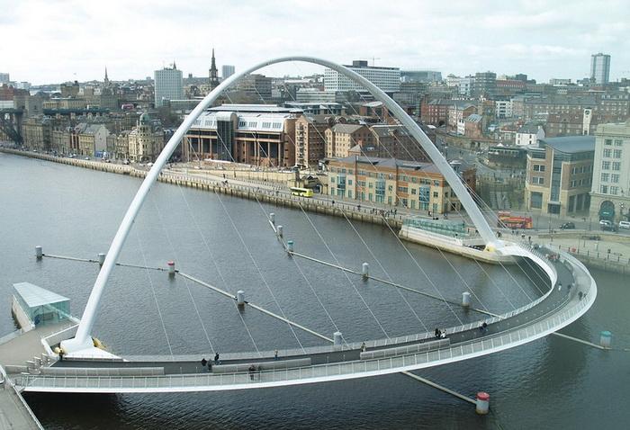 Мост Миллениум Англия