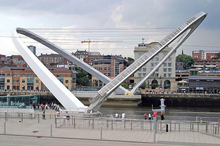Мост Миллениум в Гейтсхеде