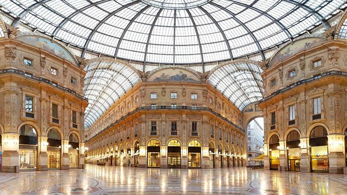 ТРЦ Galleria Vittorio Emmanuele в Милане