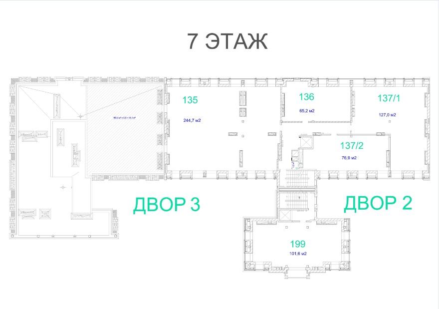 ЖК Авторский. 2 очередь. 7 этаж