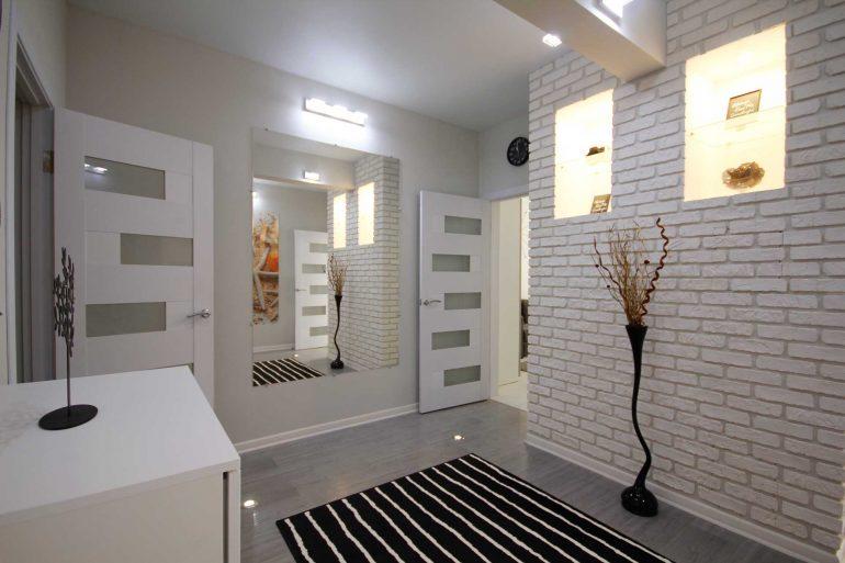 Дизайнерский проект однокомнатной квартиры