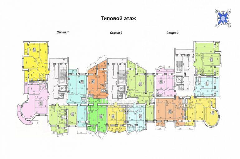 ЖК Парковый Новострой в Одессе СК Одесстрой