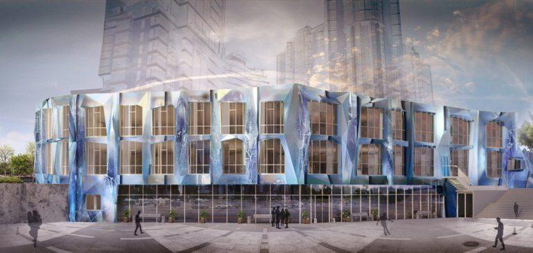 The Apartments Новострой в Одессе апартаменты фасад