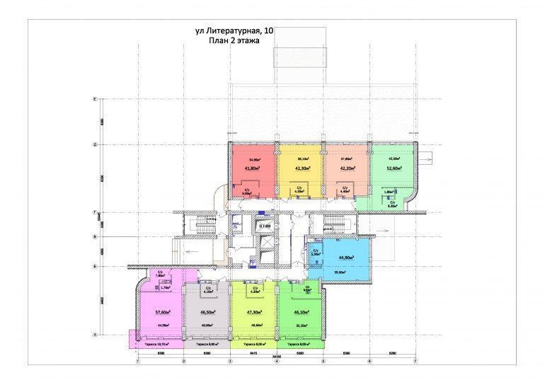 ЖК Орион План 2 этажа