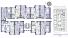 ЖК Ривьера Сити Секция 9 План типового этажа