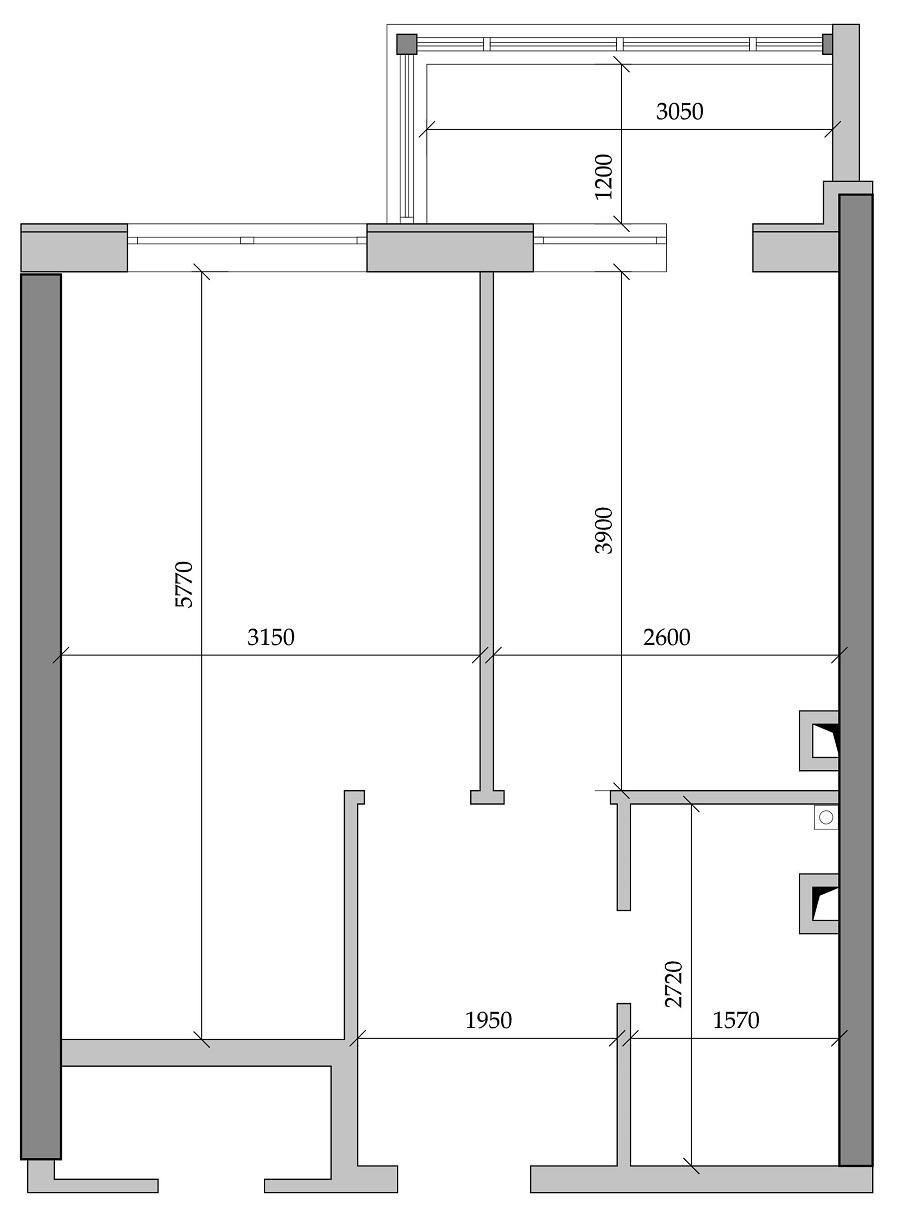 Однокомнатная - ЖК Таировские садыПроданаПлощадь:39,83m²