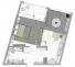 Однокомнатная - ЖК Kandinsky Residence (Кандинский)$72228Площадь:47,77m²