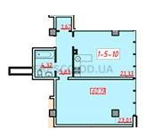 Однокомнатная - ЖК 18 Жемчужина$76755Площадь:60,2m²