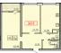 Двухкомнатная - ЖК 20 ЖемчужинаПроданаПлощадь:64,3m²