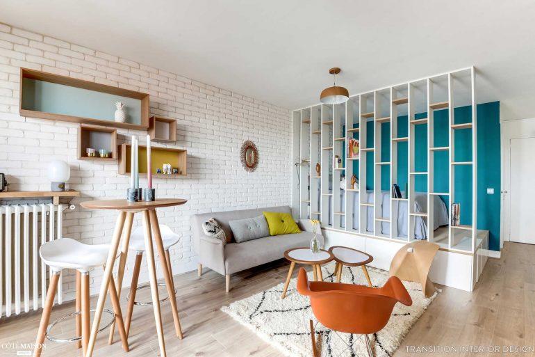 раздвижные системы, стеклянные перегородки, ширмы, складная мебель в смарт-квартирах