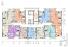 ЖК Таировские сады / Дом №2 / Секция 5 / План 3-5 этажей
